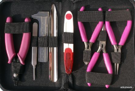 8 piece beaders tool kit.